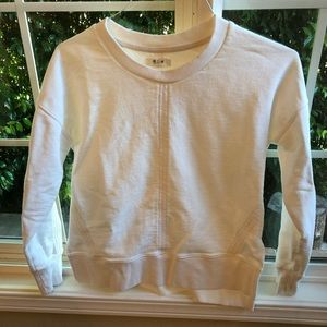 Cream Madewell Sweatshirt, Size XS